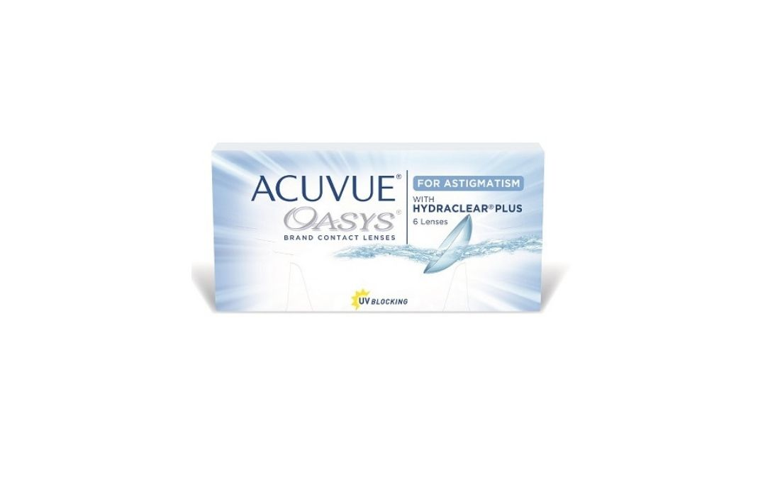 ACUVE OASYS for ASTIGMATISM with HIDRACLEAR PLUS, Johnson & Johnson